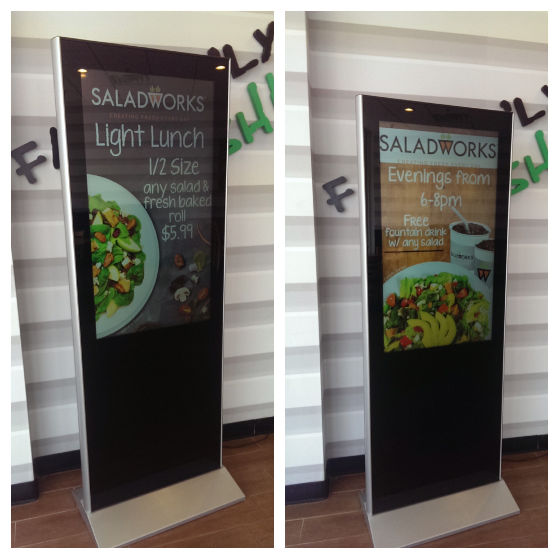 Restaurant Digital Signage Bragger Boards
