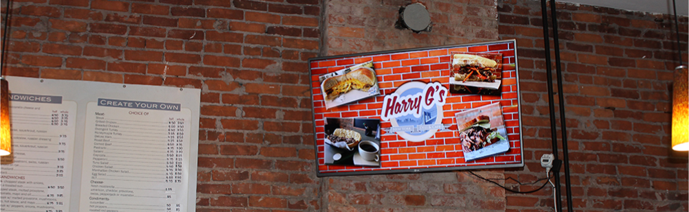 Restaurant Digital Signage