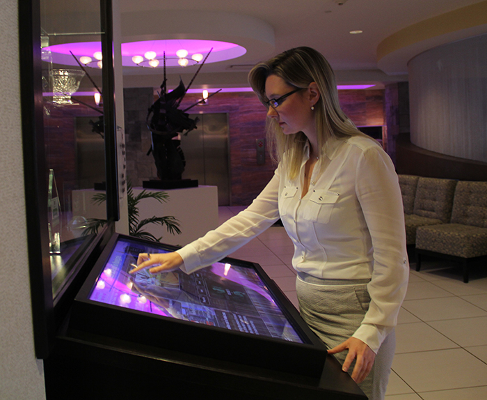 Hotel Digital Signage - Interactive Kiosks for Hotels