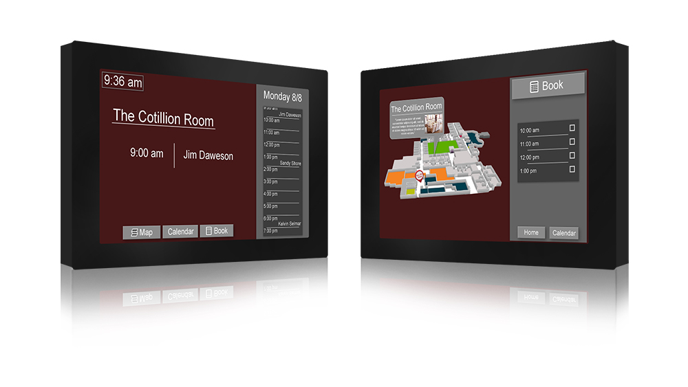 Digital Room Signs for College Campuses