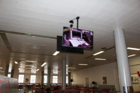 Ortho Clinical hanging screens