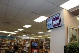 Richmond Library Batavia upstairs display