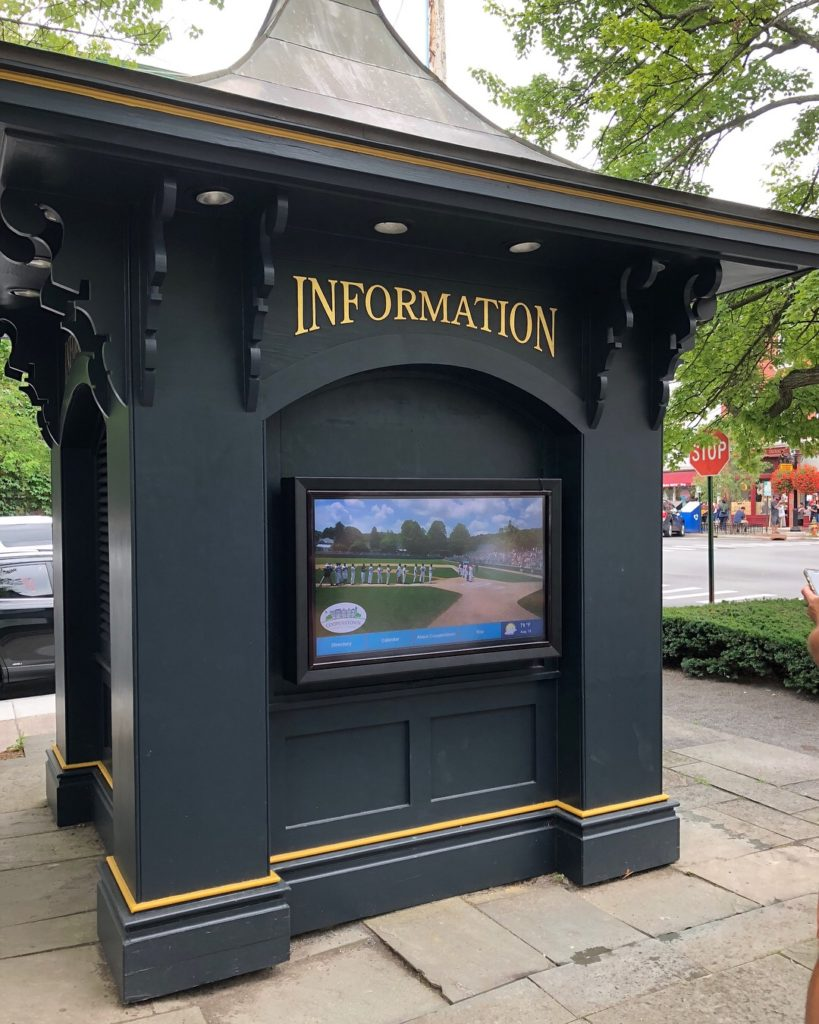 Cooperstown Chamber Interactive Information Center
