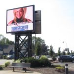 outdoor LED sign, digital billboard, outdoor digital sign