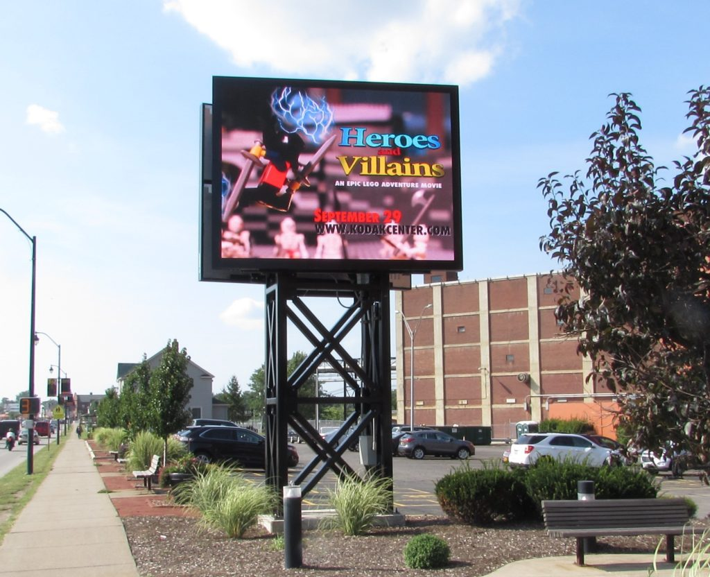 outdoor LED, digital billboard