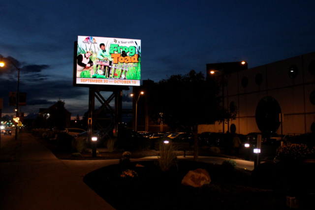 kodak center outdoor led digital signage