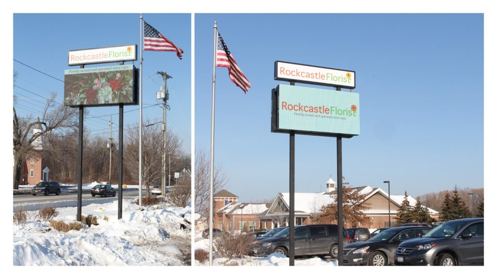 outdoor LED, outdoor digital signage
