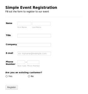 Smart Badging Event Registration