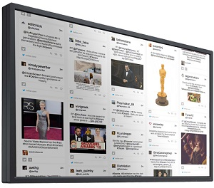 Digital Social Media Boards