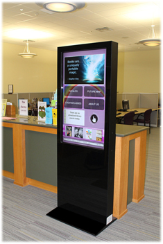 Webster Public Library Digital Signage