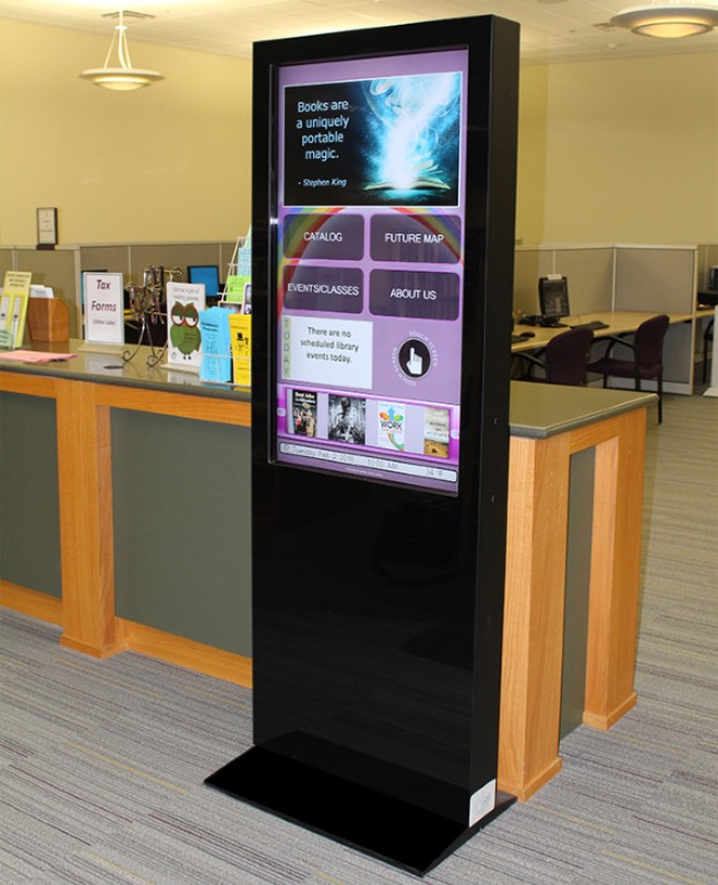 Interactive Kiosk for College Campus