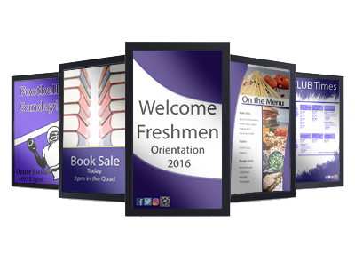 College Campus Digital Signage