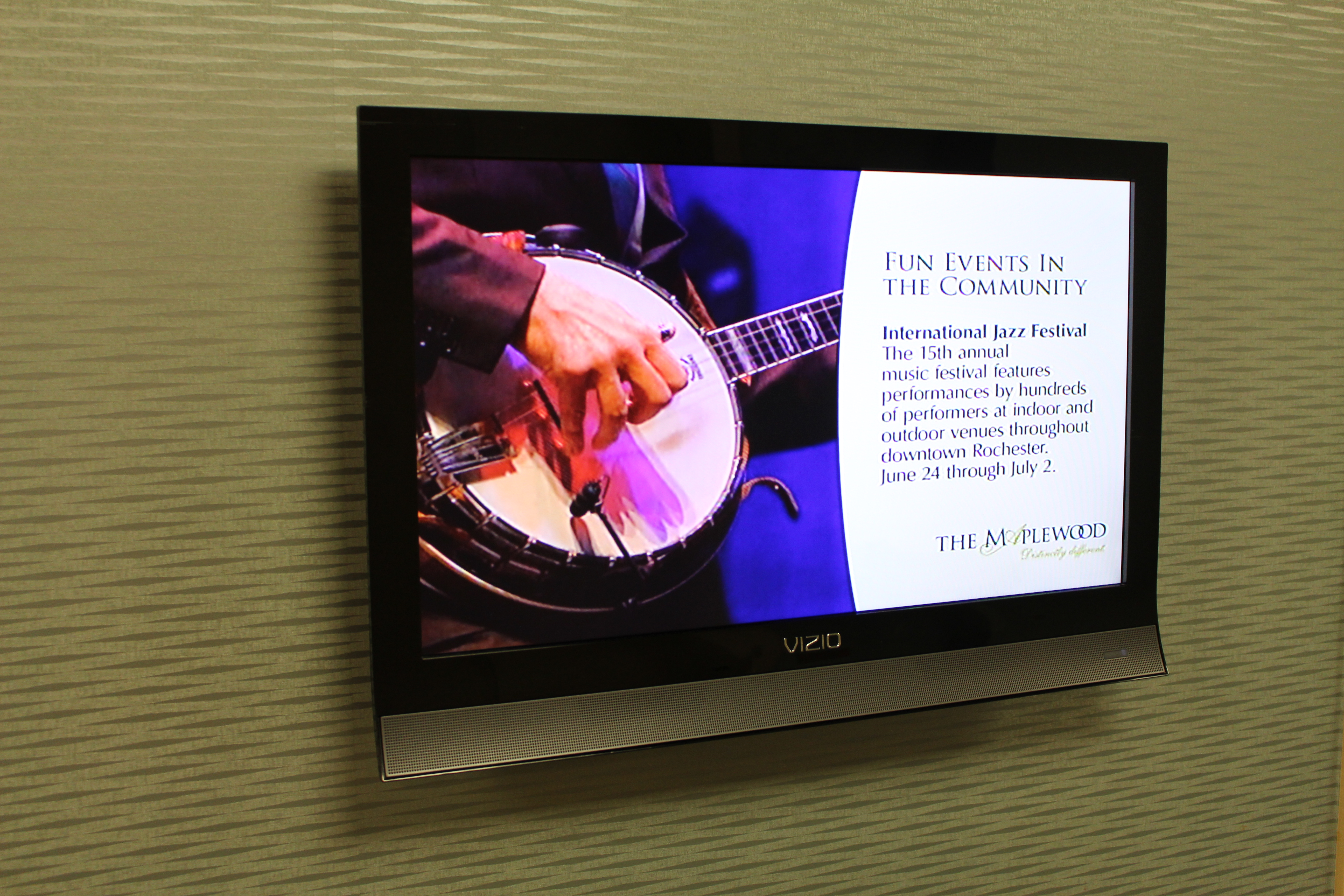 Senior Living Digital Signage