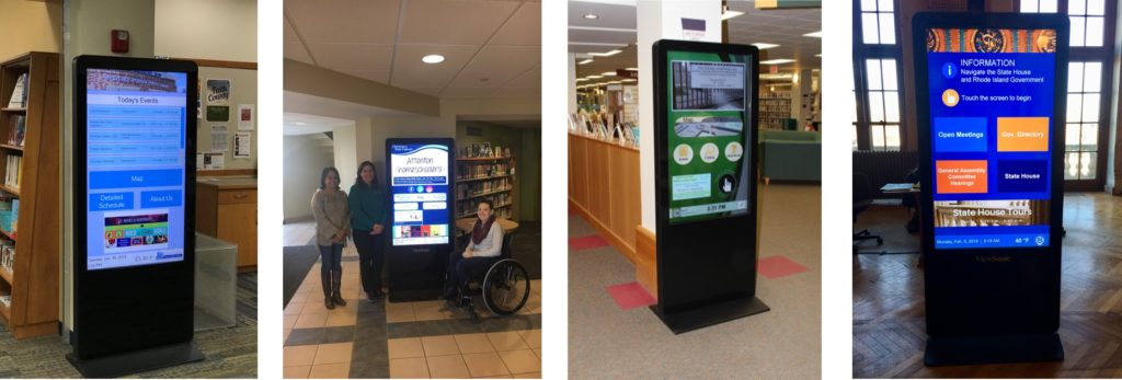 Library Digital Signage | Empire Digital Signs