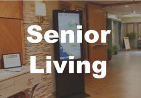 Digital Signage for Senior Living Facilities