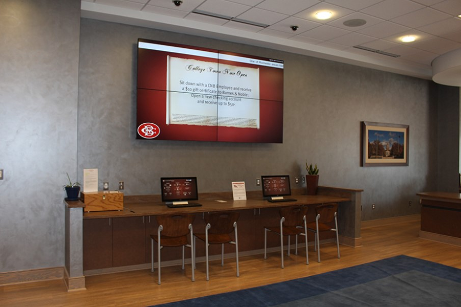 Digital Signage for Banks - Video Walls for Banks