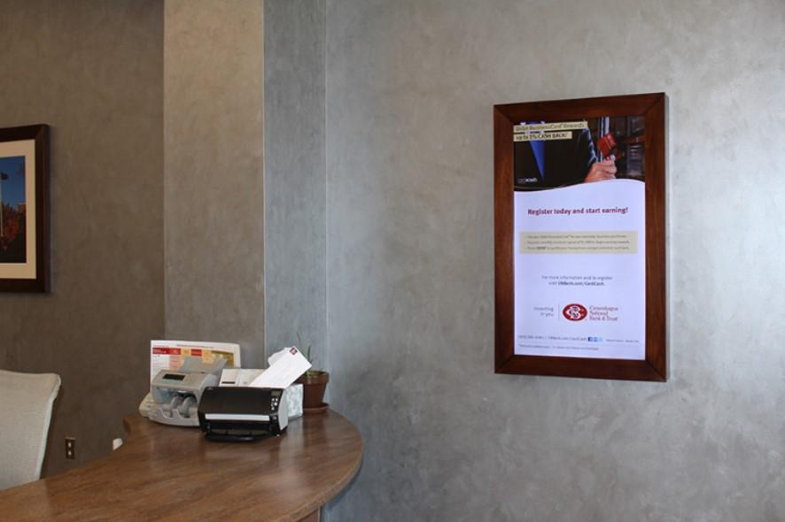 Digital Signage for Banks - E-Posters for Banks