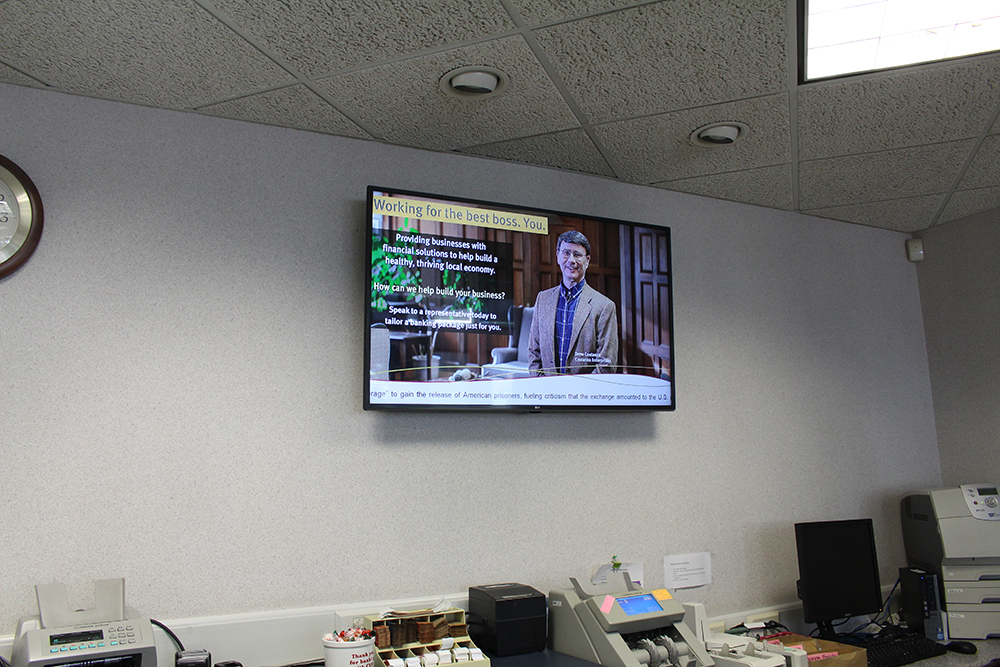 Canandaigua National Bank and Trust Digital Signage Roll Out