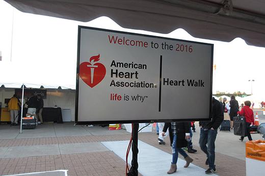 AHS: Heart Walk