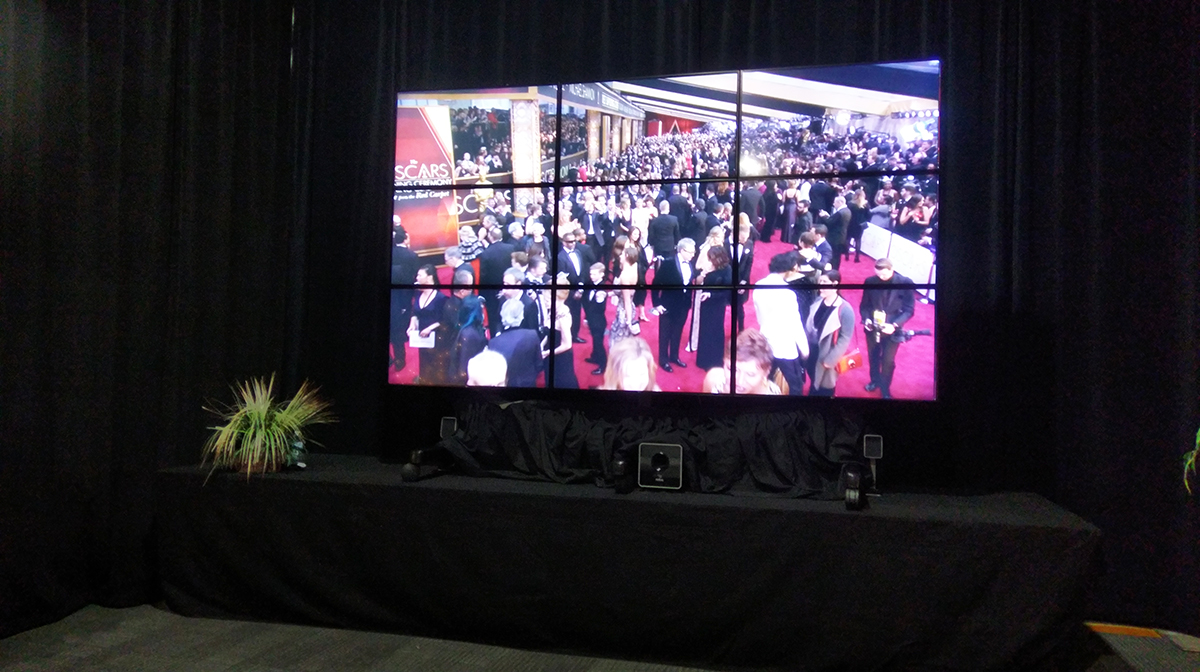 Oscar's Video Wall
