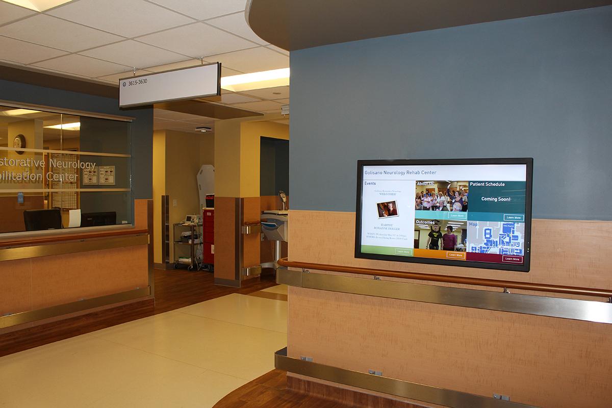 Golisano Rehab Facility Wayfinder