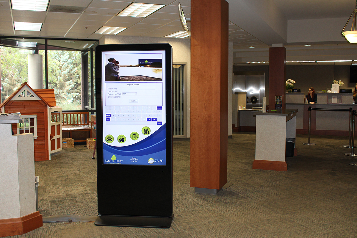 Family First Credit Union Kiosk