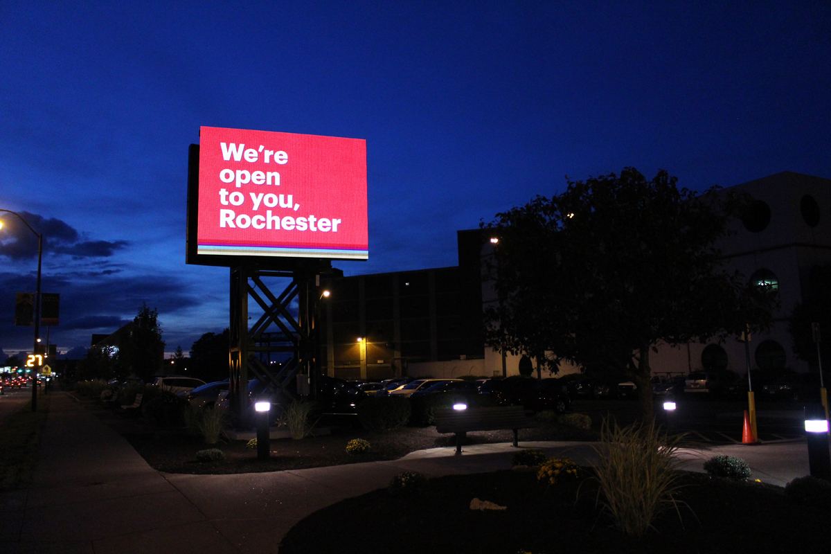 Eastman Business Park LED Display