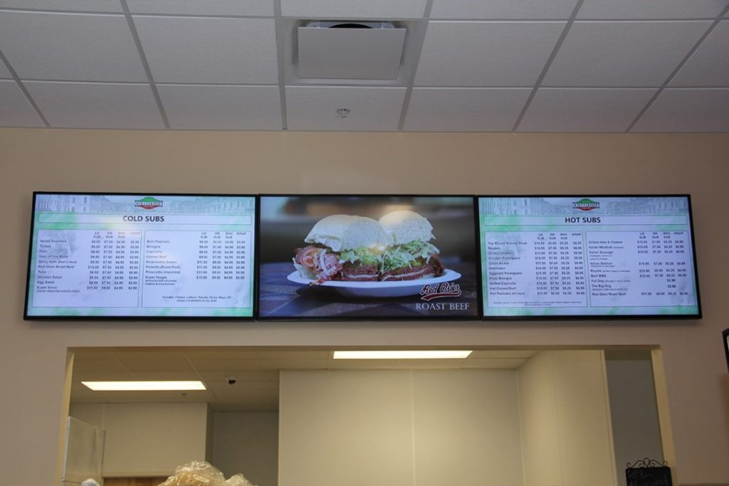 Digital Menu Board - Restaurant Digital Signage