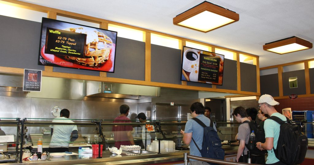 digital menu boards, day parting, digital signage