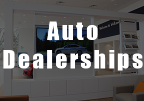 auto dealership digital signage
