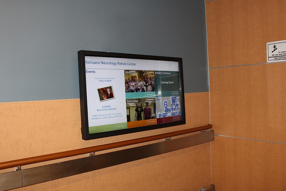 Rochester Regional Health - Golisano Neurology Rehab Center Wayfinding Kiosk