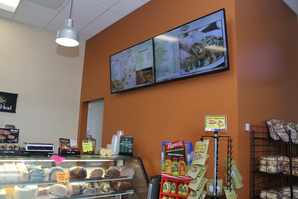 restaurant digital signage menu boards