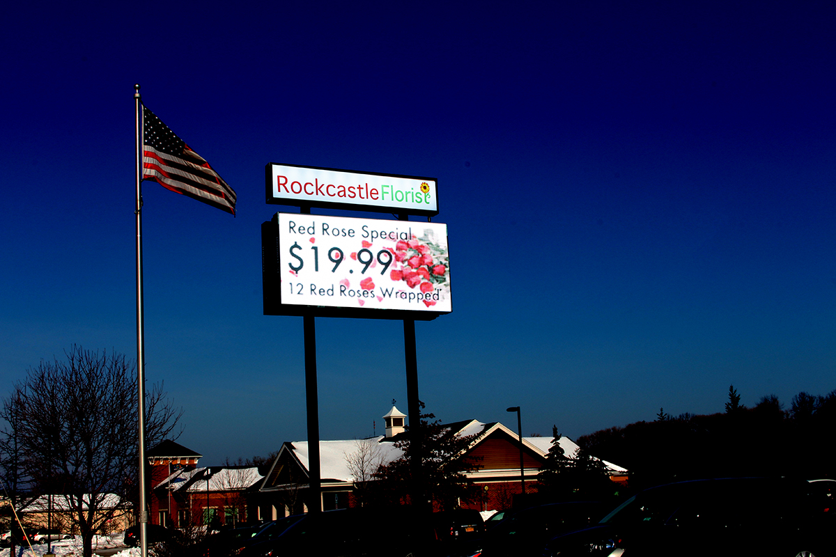 Rockcastle LED Display