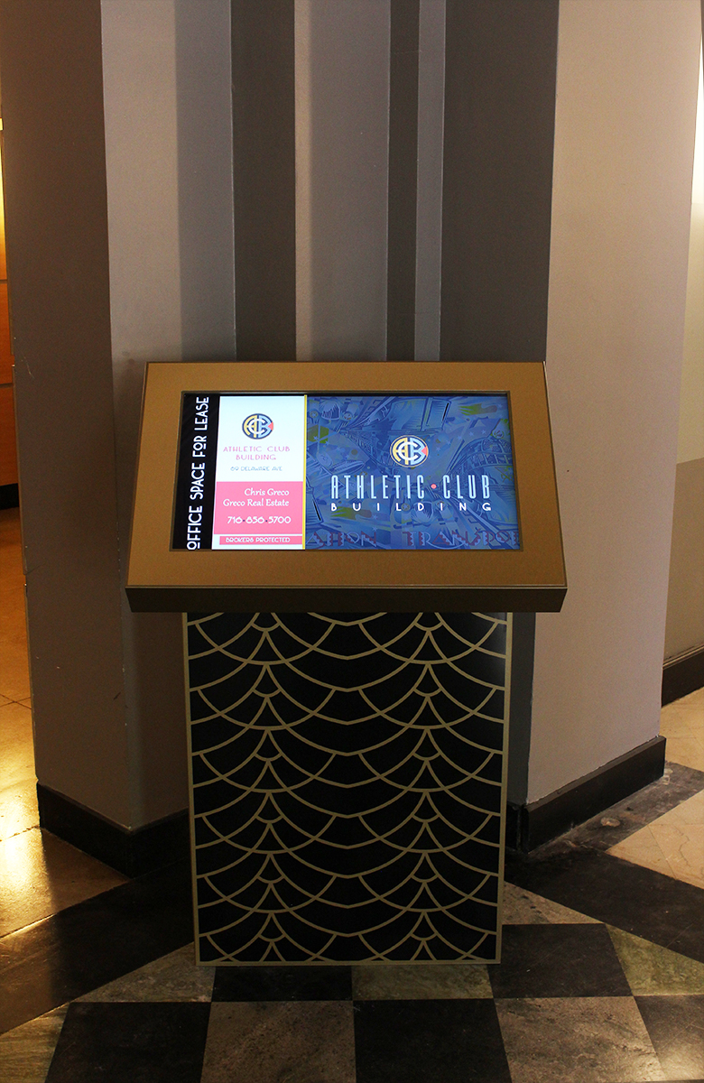 Gold Wynn Residential (Buffalo, NY) Art Deco Interactive Lobby Directory