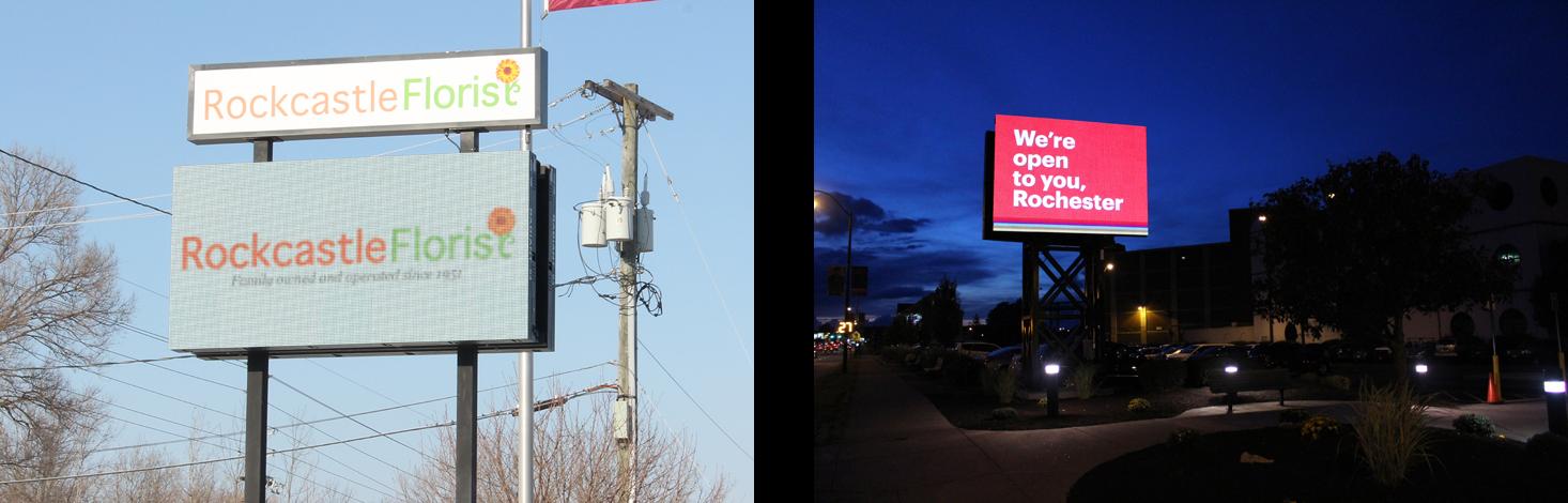 outdoor led, outdoor digital signage, outdoor screens, outdoor displays, digital billboards, billboard