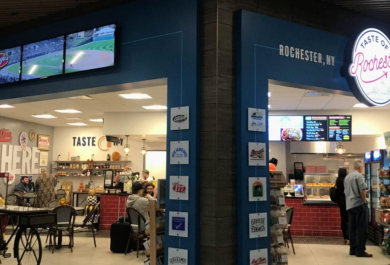 digital menu boards, grand opening, digital signage, airport digital signage, airport signage