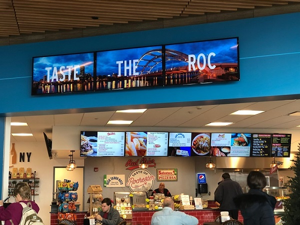 digital menu boards, digital signage