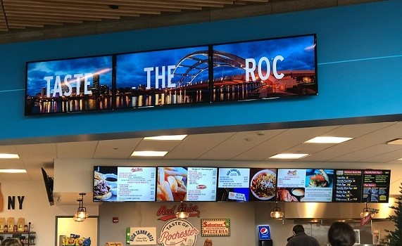 digital menu board, digital signage