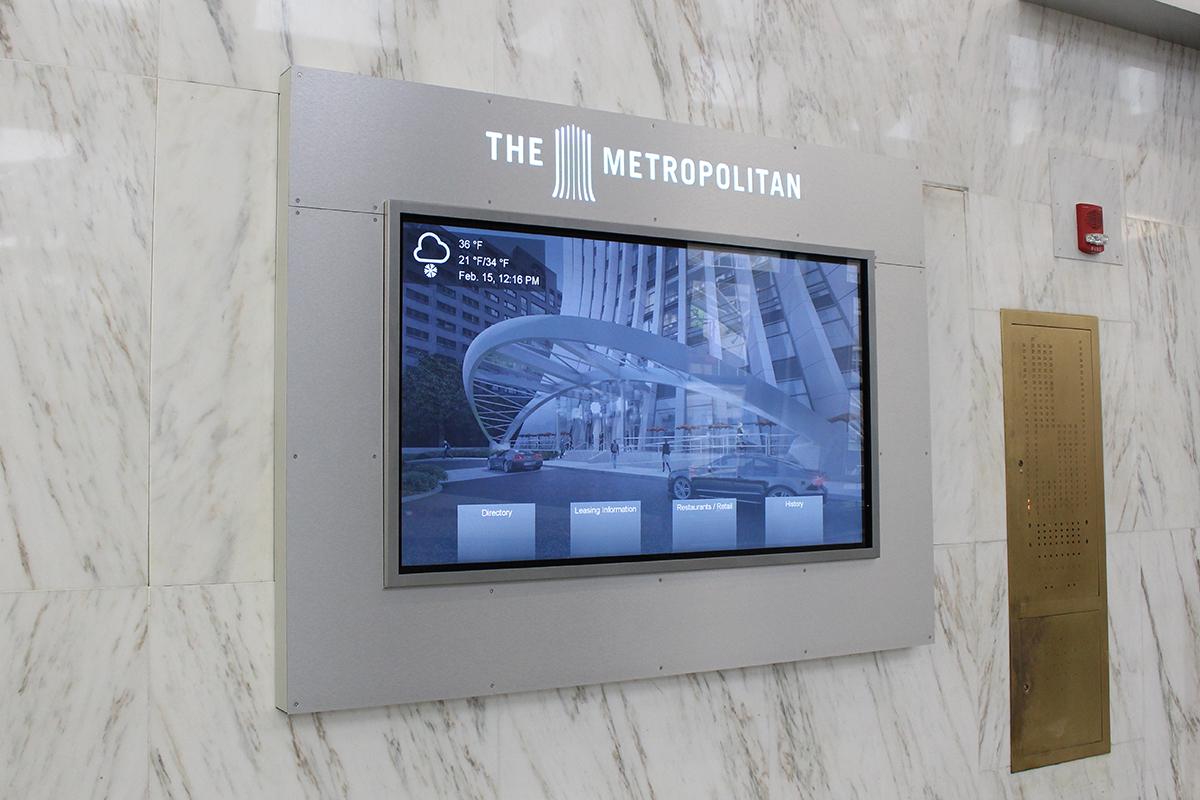 corporate digital signage, digital signage, interactive digital signage, interactive corporate digital signage