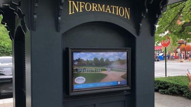 cooperstown digital display, interactive digital display, outdoor interactive digital display, cooperstown outdoor digital display, outdoor digital display