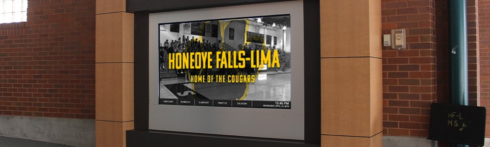 Interactive Hall of Fame System Honeoye Falls-Lima